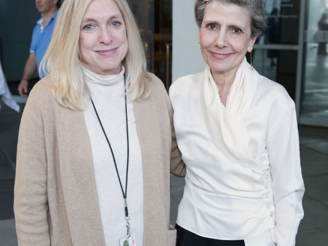 Maryam Khosrowshahi and Dr. Linda Komaroff