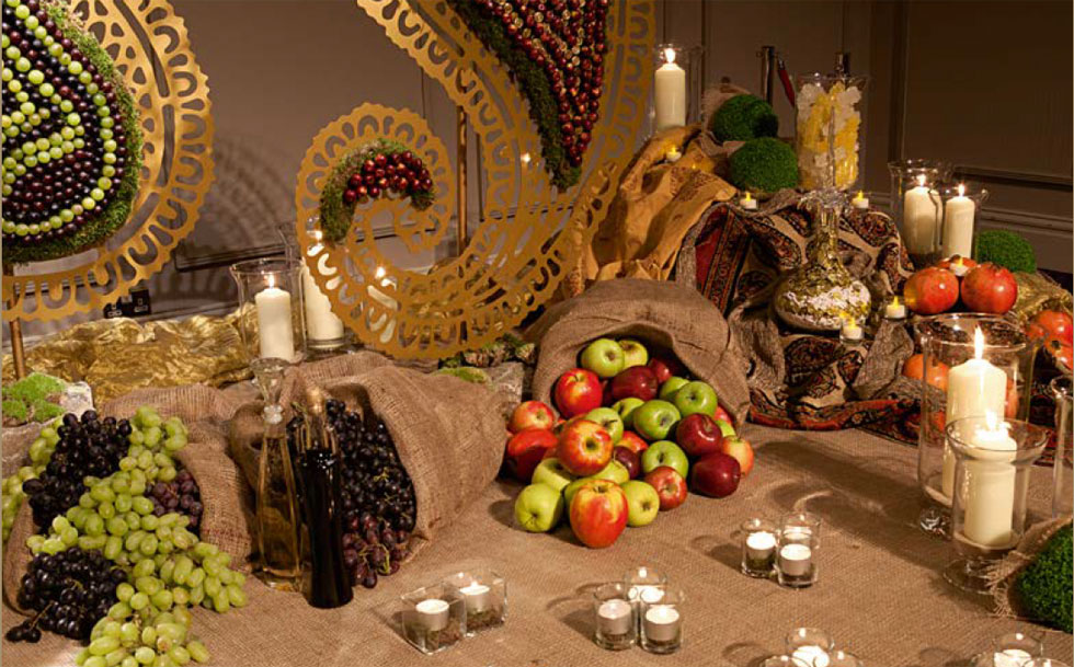 Sofreh Nowruz Persian Celebration Table Spread