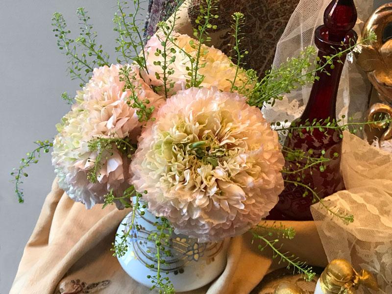 Pom Pom ranunculi flower