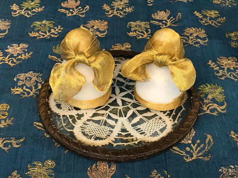 decorated miniature sugar lumps